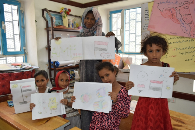 Psychological support project for Displaced children at Khair Allah Center: